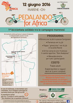 pedalando for africa small